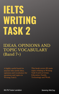 IELTS Writing Task 2 Ideas Opinions and Topic Vocabulary Band 7+